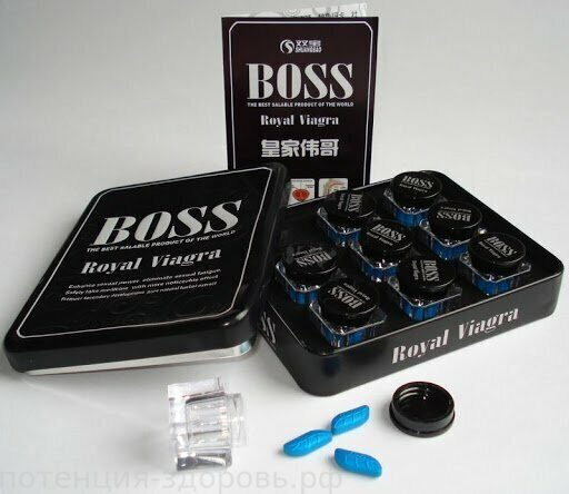 BOSS ROYAL VIAGRA 27 таб.
